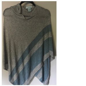 Slouchy Wool/Cashmere Shawl
